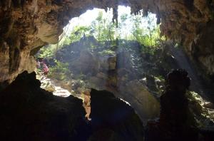 Biggest cave in Cuba