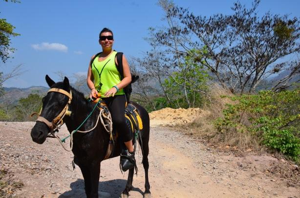 Copan horse riding