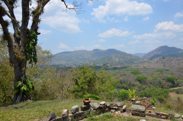 View over Copan