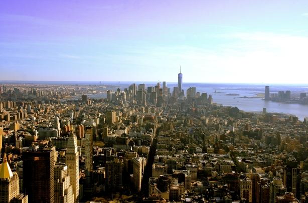 Manhattan from Empire SB